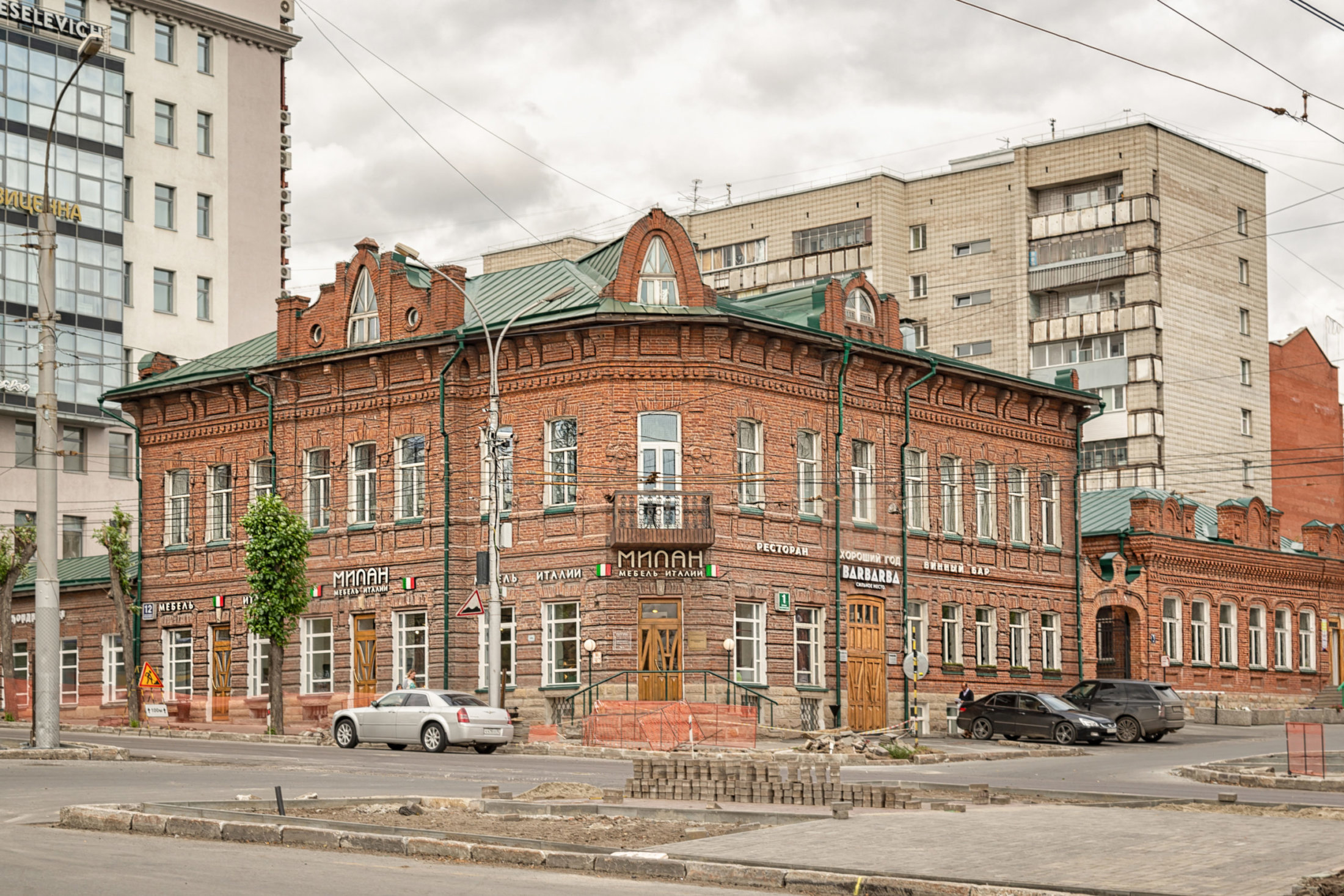 Илья Поляков. Дом Сабурова