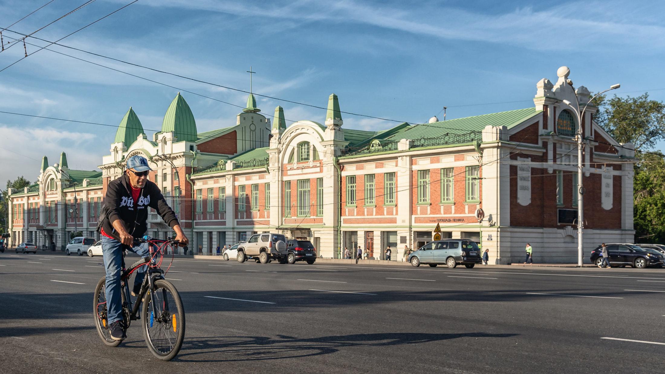 Илья Поляков. Велосипедист