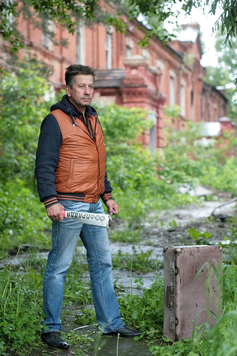 Сергей Тарасов. Автопортрет в столетнем интерьере
