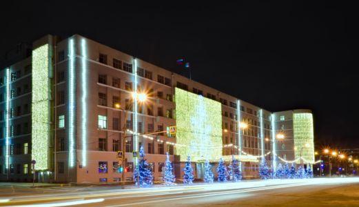 Брусков Евгений Вячеславович. Администрация НСО под Новый год